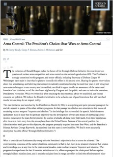 1984:5 Arms Control